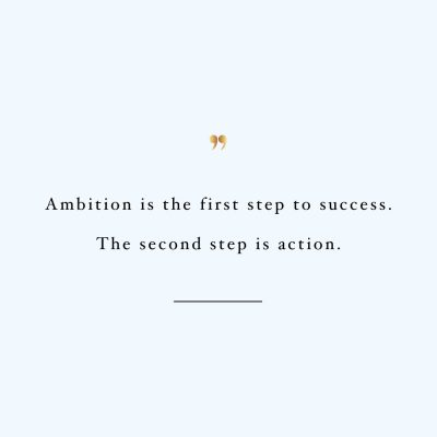 The Second Step Is Action | Wellness And Healthy Lifestyle Motivation / @spotebi