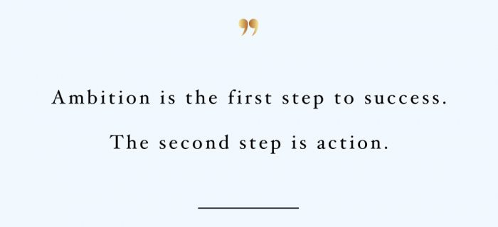 The Second Step Is Action | Wellness And Healthy Lifestyle Motivation