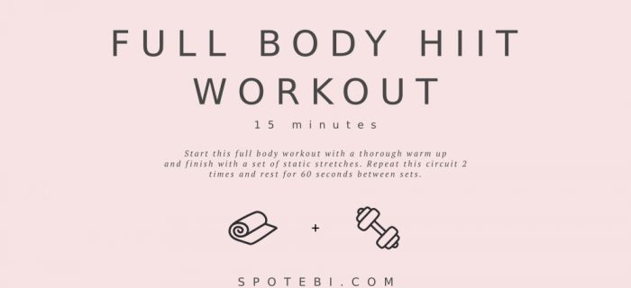 15-Minute Full Body HIIT Workout