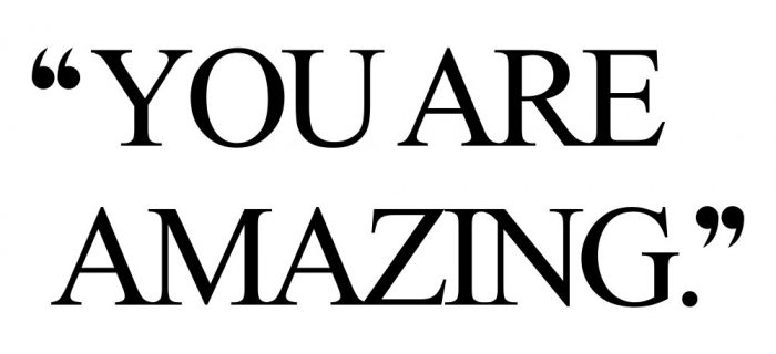 You Are Amazing | Motivational Wellness And Healthy Lifestyle Quote