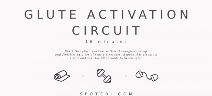 16-Minute Glute Activation Circuit