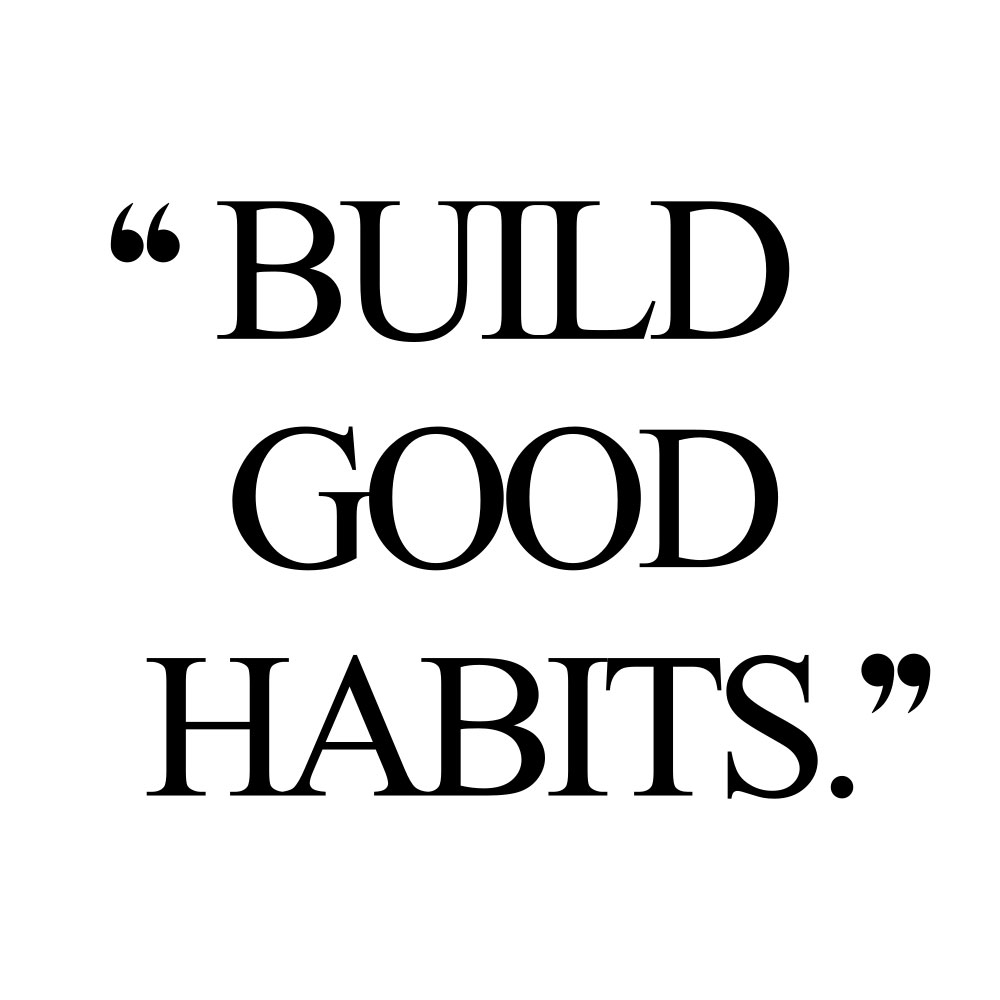 Build good habits! Browse our collection of inspirational fitness and healthy lifestyle quotes and get instant self-love and wellness motivation. Stay focused and get fit, healthy and happy! https://www.spotebi.com/workout-motivation/build-good-habits/
