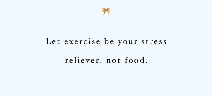 Let Exercise Be Your Stress Reliever | Self-Love And Wellness Motivational Quote