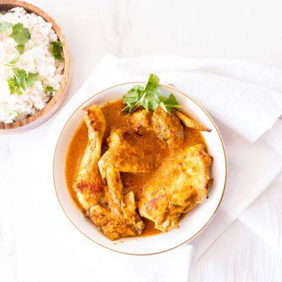 Meal Prep Recipe: Coconut Chicken Curry / @spotebi