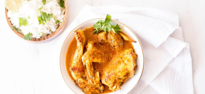 Meal Prep Recipe: Coconut Chicken Curry