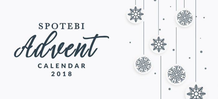 Spotebi Advent Calendar 2018