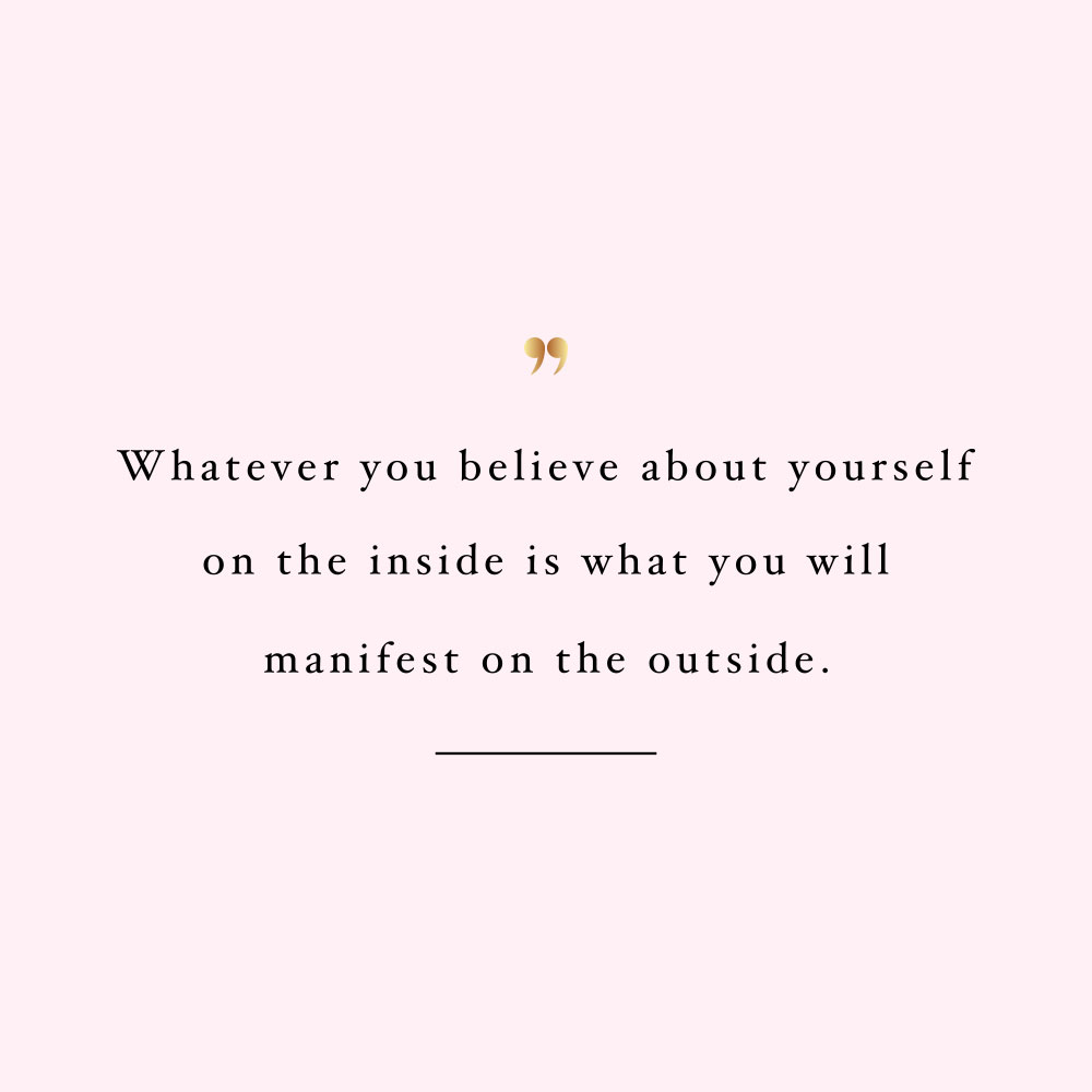 Believe and manifest! Browse our collection of inspirational self-love and exercise quotes and get instant fitness and healthy lifestyle motivation. Stay focused and get fit, healthy and happy! https://www.spotebi.com/workout-motivation/believe-and-manifest/