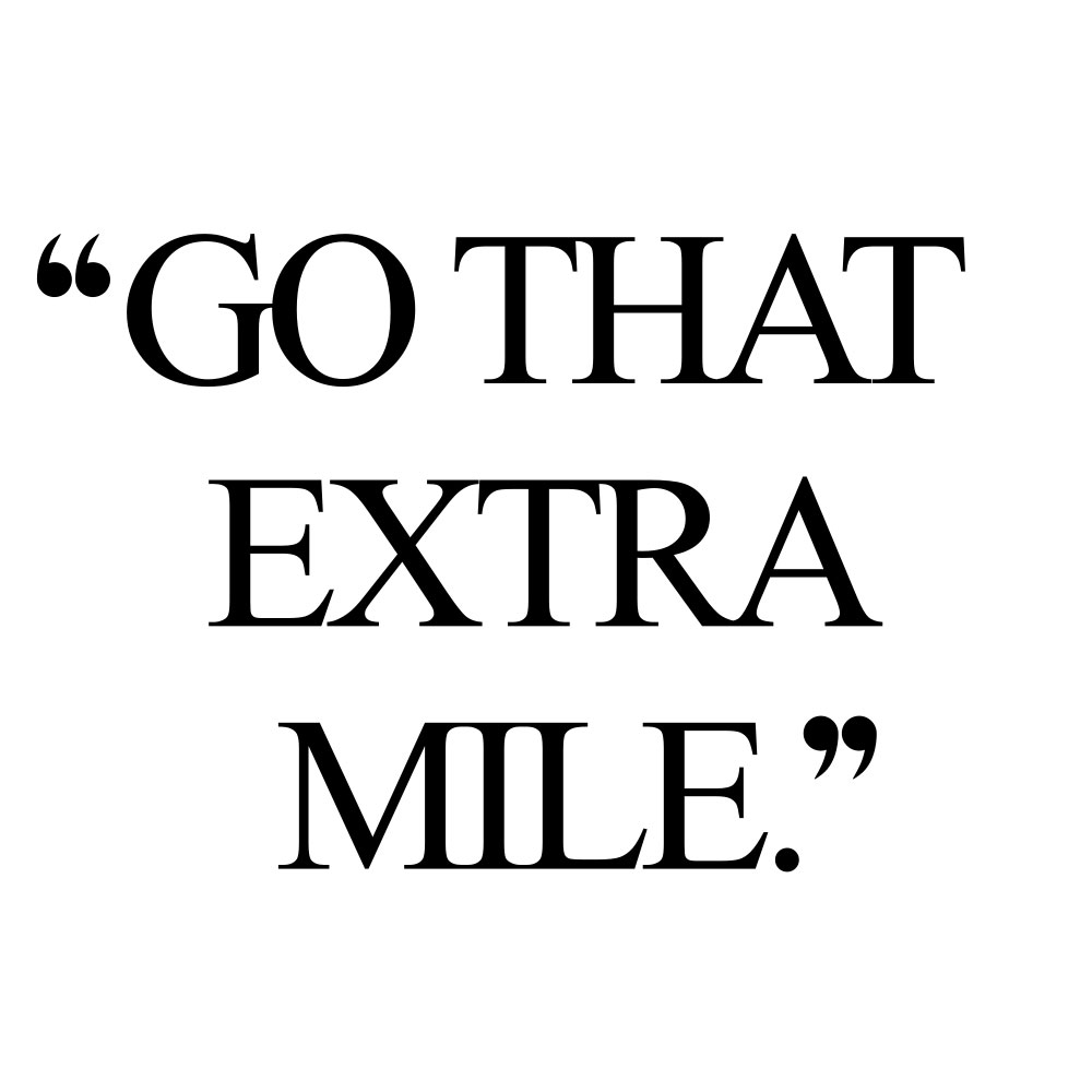 Go that extra mile! Browse our collection of motivational wellness and wellbeing quotes and get instant health and fitness inspiration. Stay focused and get fit, healthy and happy! https://www.spotebi.com/workout-motivation/go-that-extra-mile/