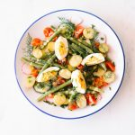 Egg & Potato Salad with Herbs & Lemon Dijon Vinaigrette