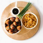 Sweet & Savory Caramelized Pork Meatballs