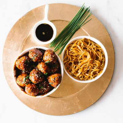 Sweet & Savory Caramelized Pork Meatballs Recipe / @spotebi