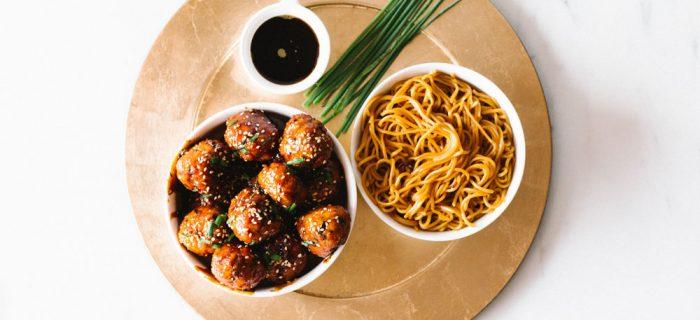 Sweet & Savory Caramelized Pork Meatballs