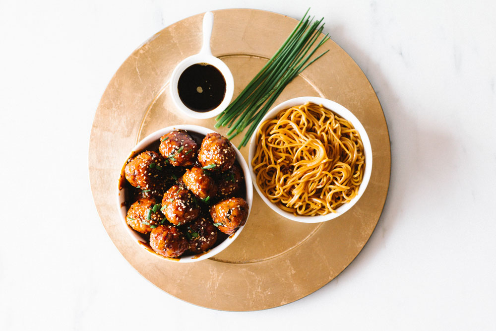 Not sure what to make for dinner? These sweet and savory caramelized pork meatballs are so easy and so delicious. They have a rich, deep flavor and with only 74 calories and 7.6 g of protein per meatball, they won't blow your diet! https://www.spotebi.com/recipes/sweet-savory-caramelized-pork-meatballs/