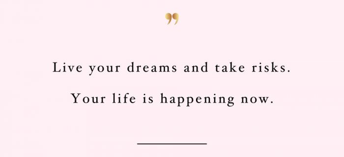 Your Life Is Happening Now | Wellness And Wellbeing Motivation