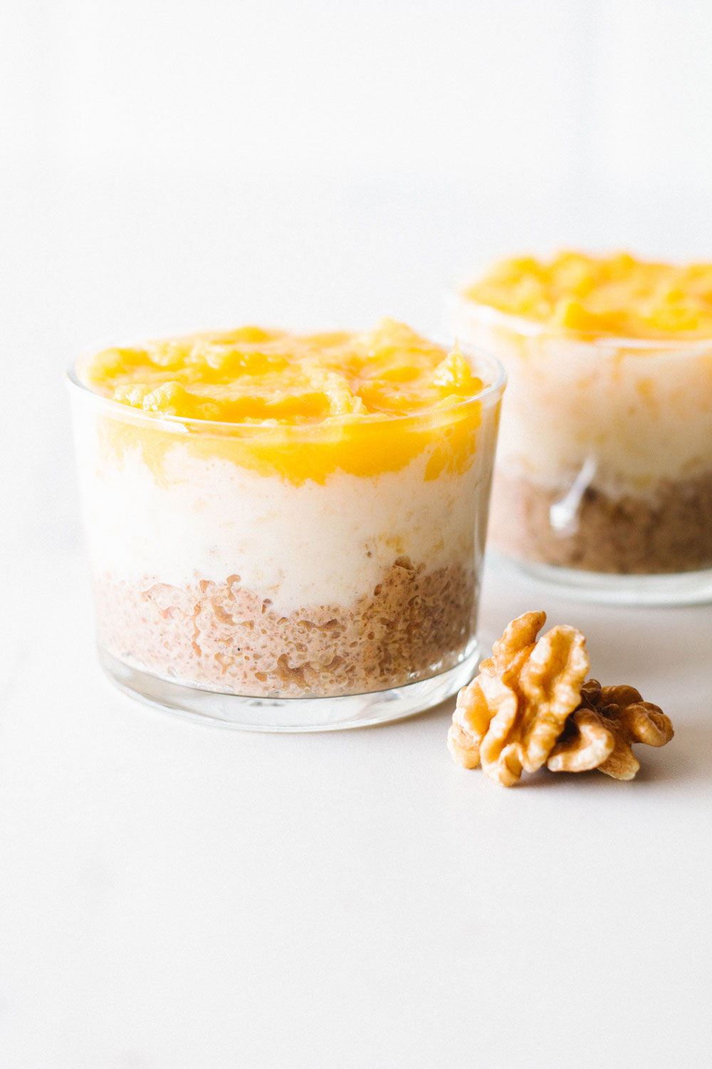 Embrace quinoa's sweet side with this creamy breakfast quinoa with banana and mango. It's totally healthy, super delicious and, in our opinion, the new breakfast of champions! https://www.spotebi.com/recipes/creamy-breakfast-quinoa-banana-mango/