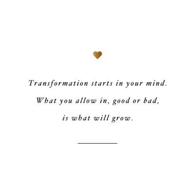 It Starts In Your Mind | Fitness And Self-Love Quote / @spotebi