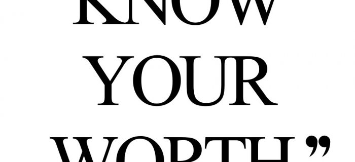 Know Your Worth   Inspirational Wellness And Wellbeing Quote