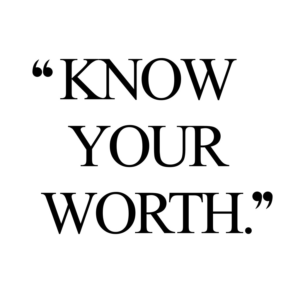 Know your worth! Browse our collection of inspirational wellness and wellbeing quotes and get instant health and fitness motivation. Stay focused and get fit, healthy and happy! https://www.spotebi.com/workout-motivation/know-your-worth/