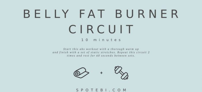 10-Minute Belly Fat Burner Circuit