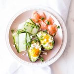 Baked Avocado Boats with Eggs and Smoked Salmon