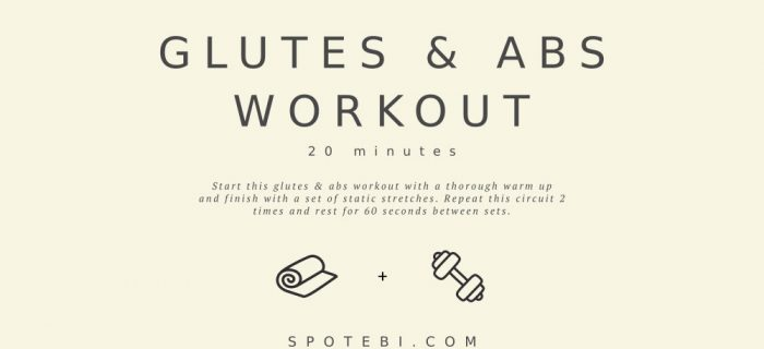20-Minute Glutes & Abs Workout