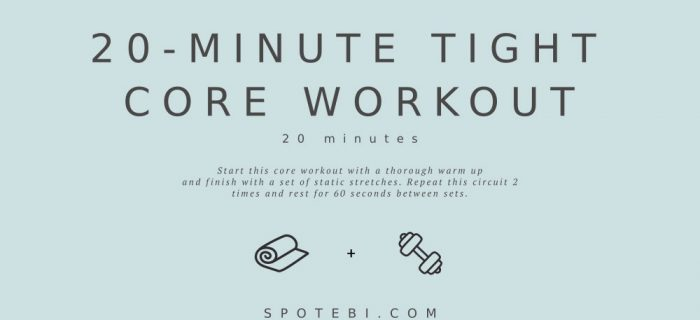 20-Minute Tight Core Workout