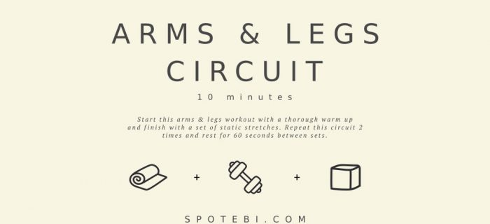 10-Minute Arms & Legs Circuit