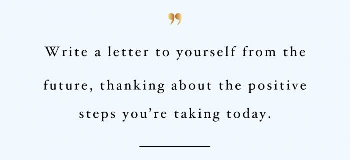 Letter To Yourself | Wellness And Self-Love Quote