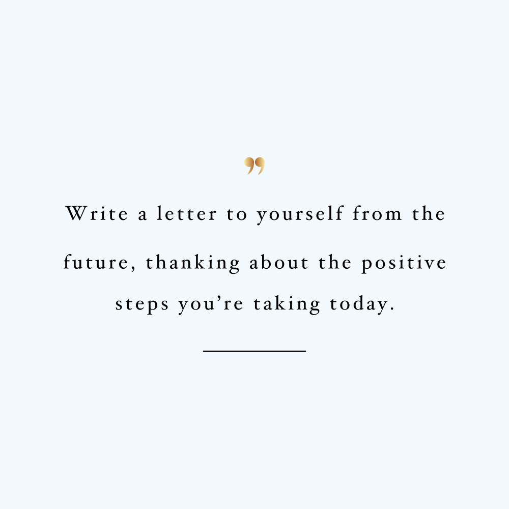 Letter to yourself! Browse our collection of inspirational wellness and self-love quotes and get instant fitness and training motivation. Stay focused and get fit, healthy and happy! https://www.spotebi.com/workout-motivation/letter-to-yourself/