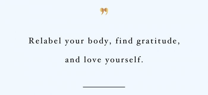 Relabel Your Body | Fitness And Training Inspiration Quote
