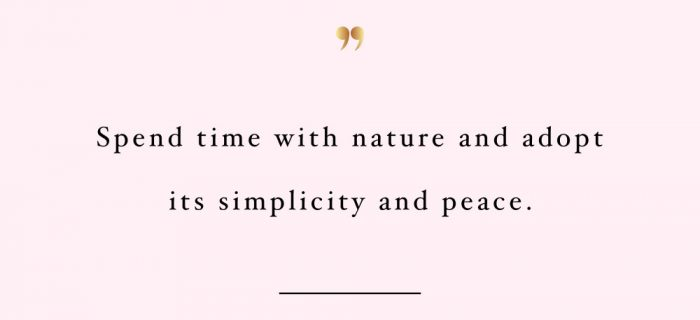Spend Time With Nature | Motivational Fitness And Training Quote
