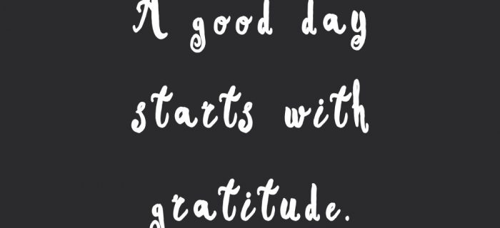 Start With Gratitude | Fitness And Training Motivational Quote