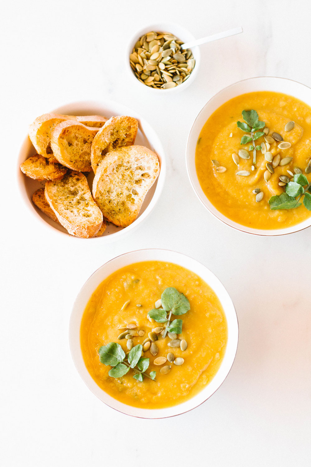 This Fall Harvest Vegetable Soup Recipe is full of hearty vegetables like sweet potatoes, butternut squash, and more. It's thick, delicious and, even though it's low in calories, it's still super-satisfying and filling. Whip up a warm batch of this comforting soup and cozy up on the couch with a good book or movie. https://www.spotebi.com/recipes/fall-harvest-vegetable-soup-recipe/