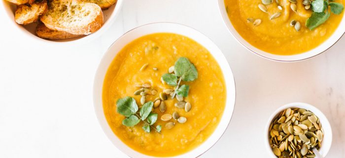 Fall Harvest Vegetable Soup Recipe