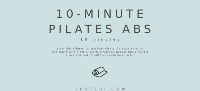 10-Minute Pilates Abs