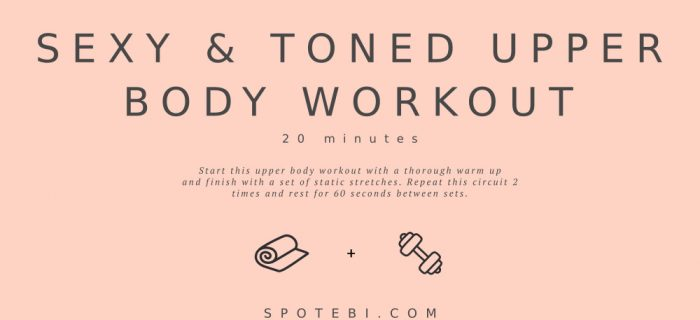 20-Minute Sexy & Toned Upper Body Workout