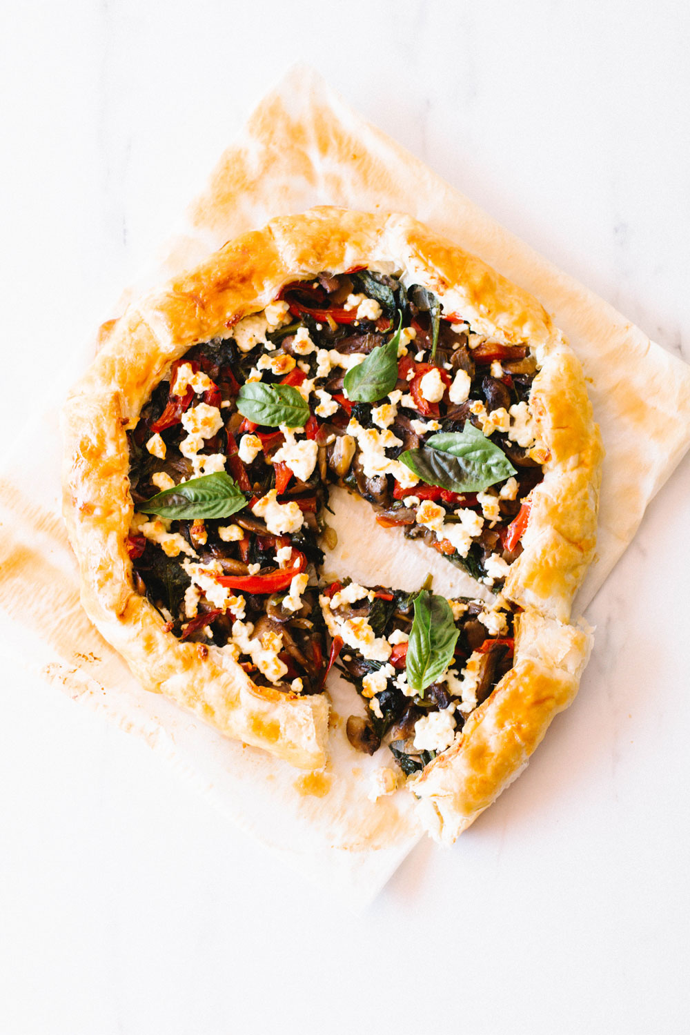 Impress your family and friends with this Mushroom, Spinach, and Crumbled Feta Pie. A perfect brunch recipe that's delicious and easy to make but also nutritionally rich. https://www.spotebi.com/recipes/mushroom-spinach-crumbled-feta-pie/