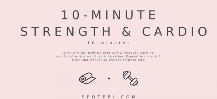 10-Minute Strength & Cardio Routine