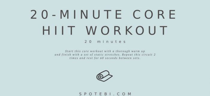 20-Minute No-Equipment Core HIIT Workout