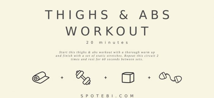 20-Minute Thighs & Abs Workout