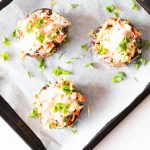 Chicken Cheddar Stuffed Portobello Mushrooms