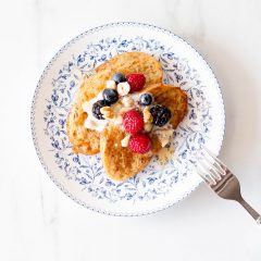 Healthy & Easy French Toast Recipe / @spotebi
