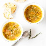 One-Pot Italian Minestrone Soup Recipe