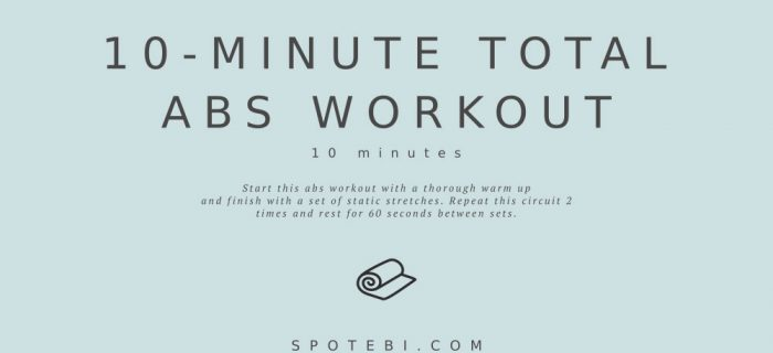 10-Minute Total Abs Workout