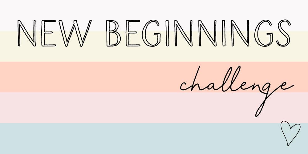 New Beginnings Challenge | Spotebi