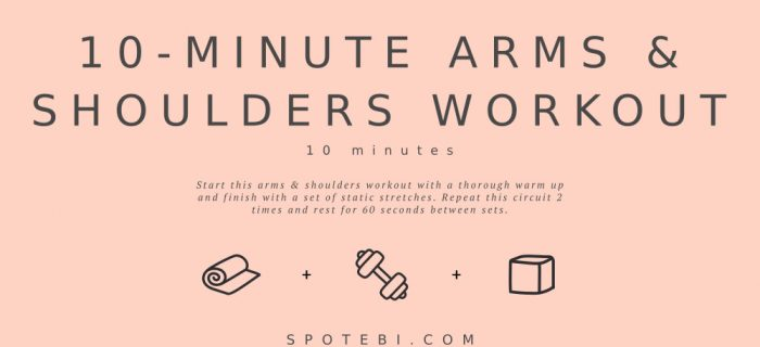 10-Minute Arms & Shoulders Workout