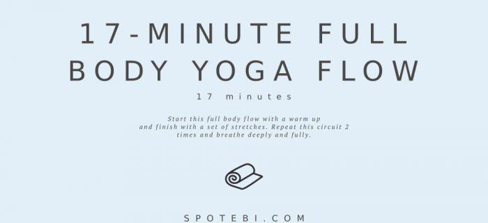 17-Minute Full Body Yoga Flow