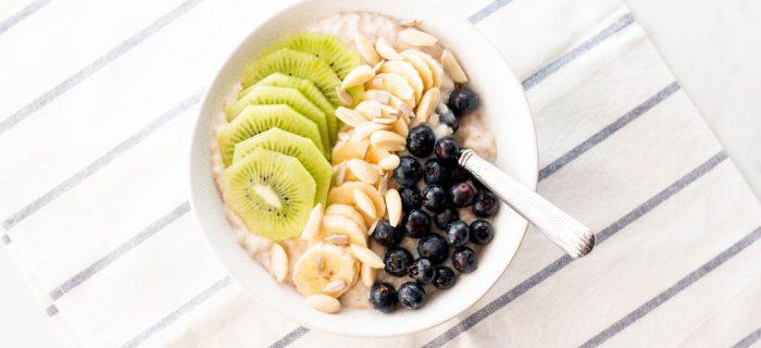 Immunity-Boosting Oatmeal Breakfast Bowl