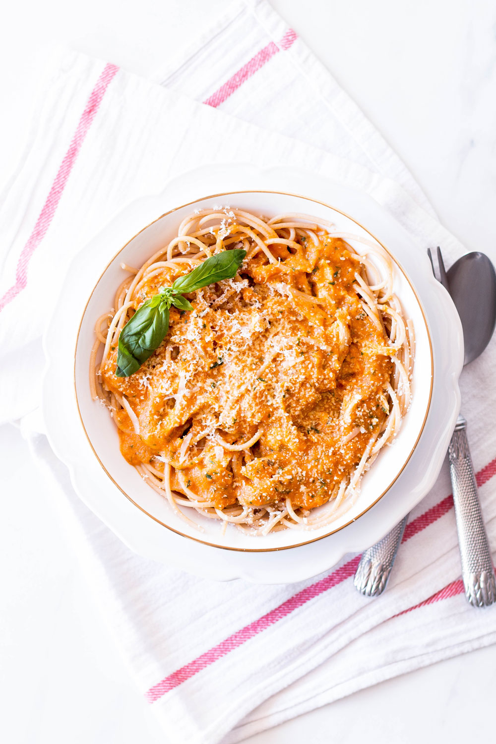 Roasted Tomato And Red Pepper Sauce