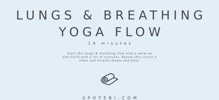 19-Minute Lungs & Breathing Yoga Flow